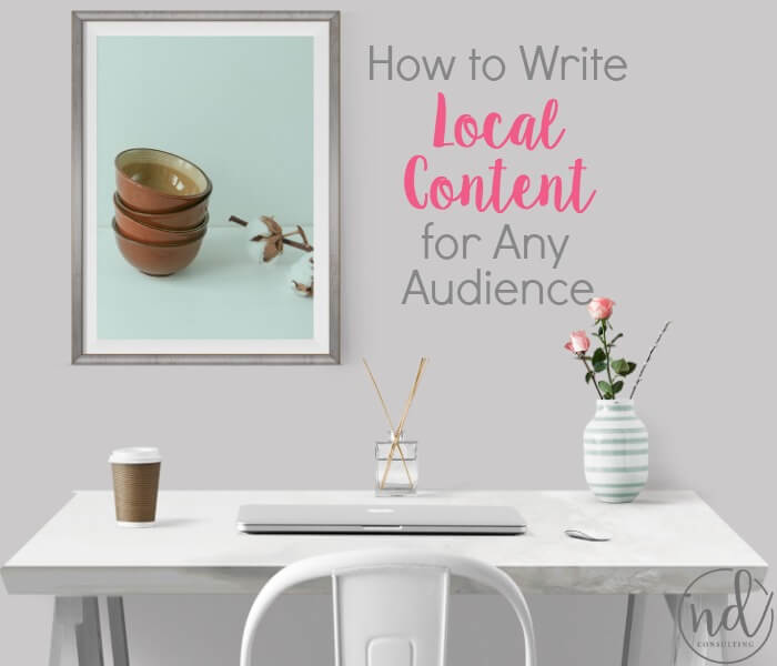 Can a blogger add local content without losing or alienating an audience? YES! Here's how.