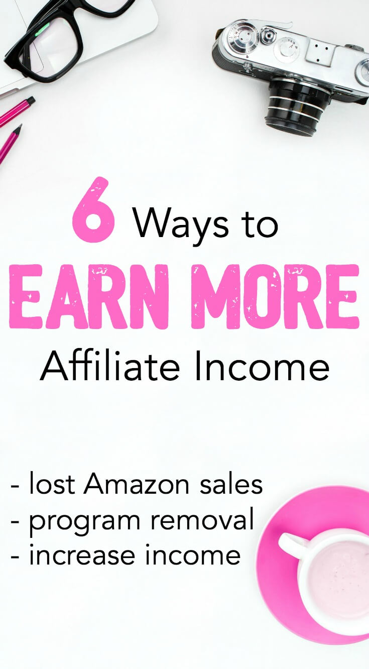 When Amazon affiliate earnings decrease, it's a smart move to take action. If you've been affected, here are steps to replace your affiliate income losses.