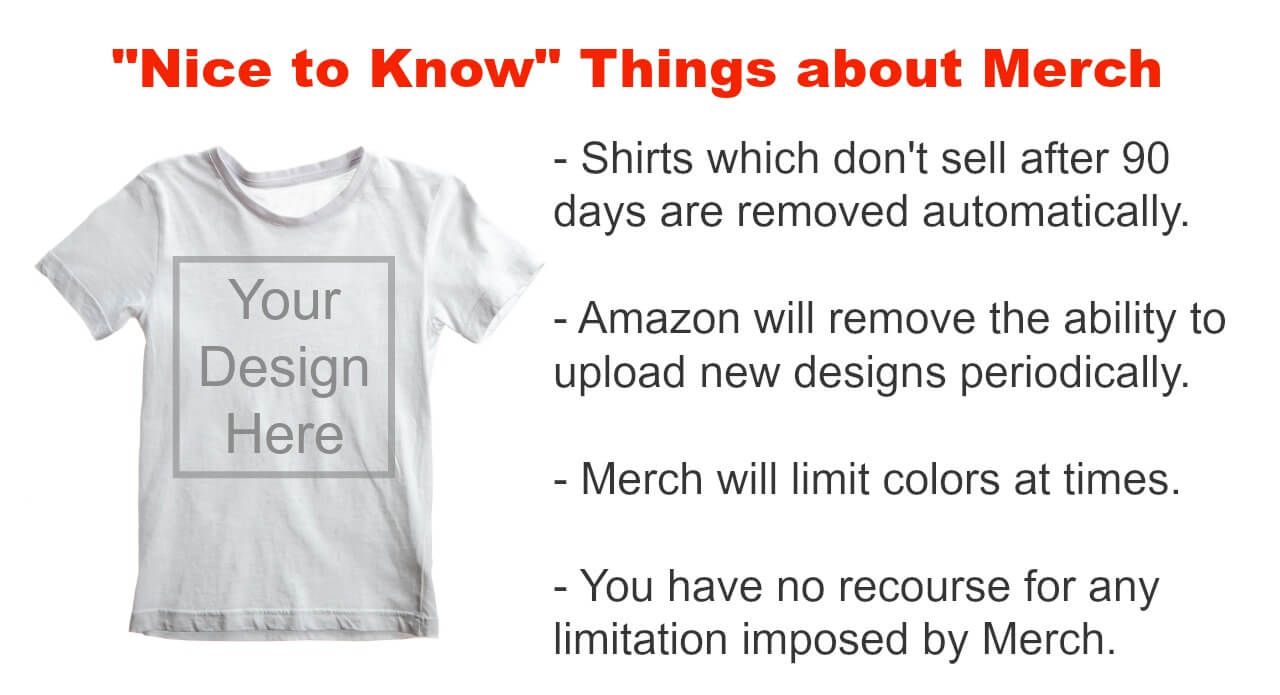 Tips on how to sell shirts with Amazon Merch