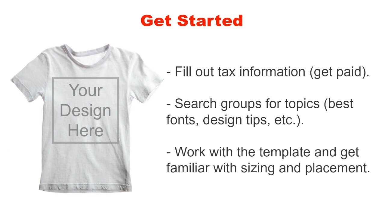 Design t shirt and get paid - Make Your Own T Shirts For Your Blog