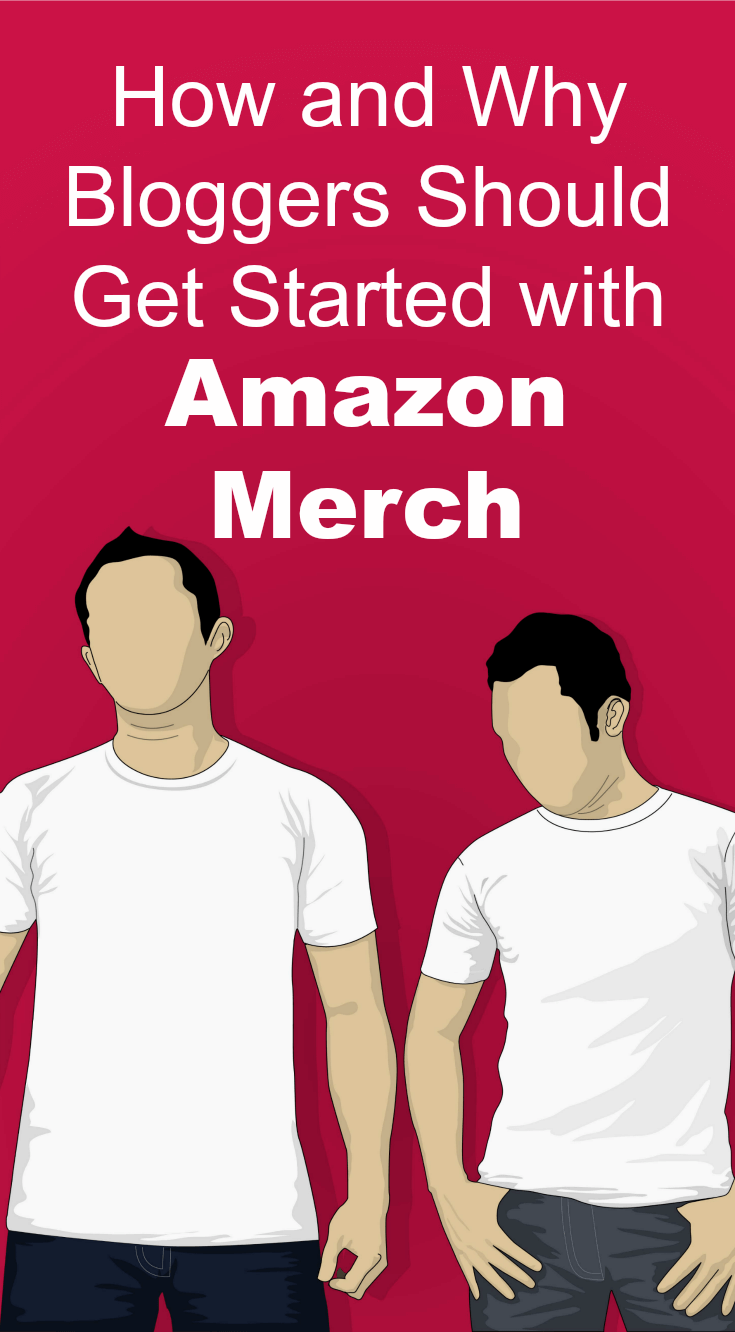 A tutorial and tips on how to get started with Amazon Merch as a blogging revenue stream.