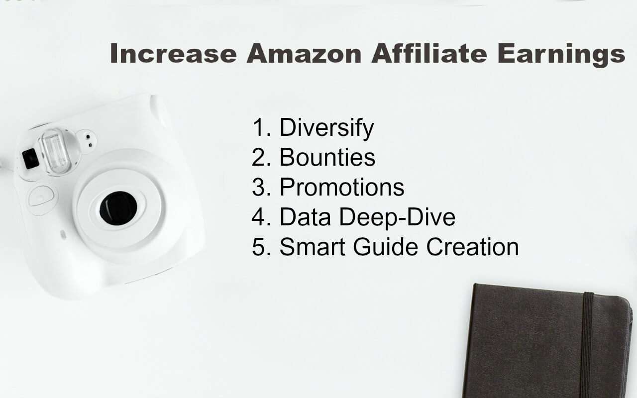 Make more money blogging by increasing Amazon affiliates payouts