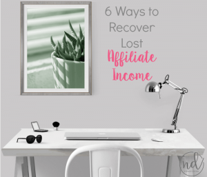 How to Recover from an Amazon Affiliate Earnings Decrease