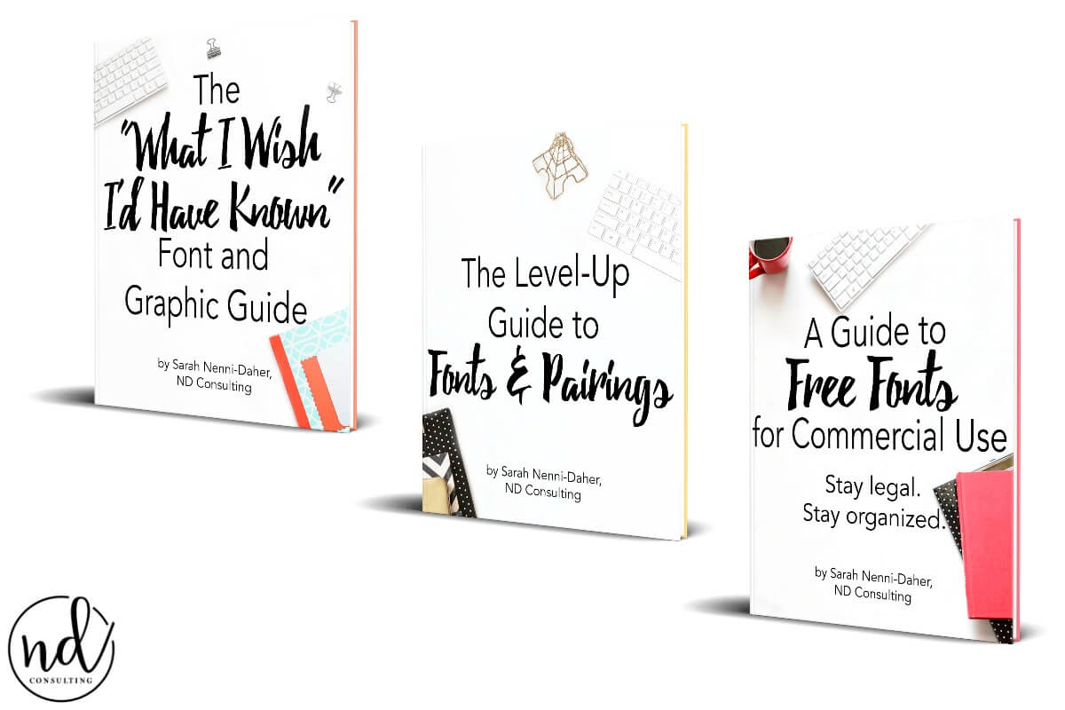 Three Font Guides for Bloggers