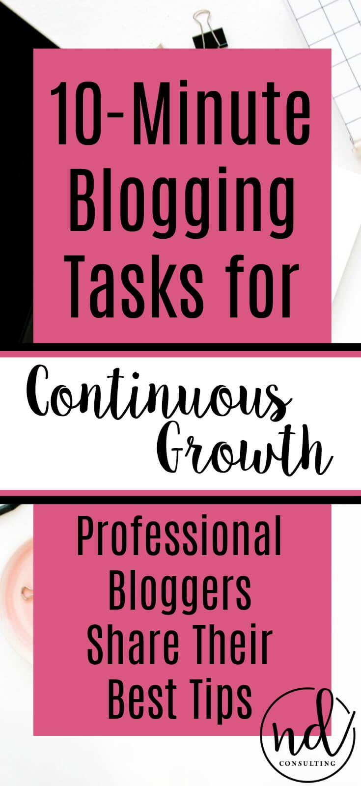 10 Minute Blogging Quick Tips for Continuous Growth Strategy