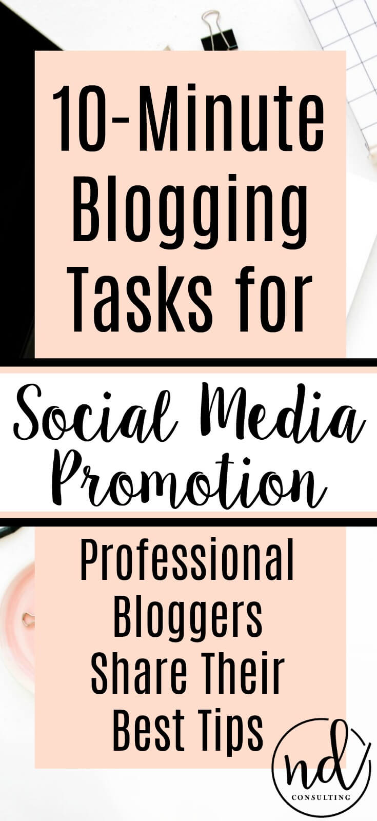 10 Minute Blogging Quick Tips for Social Media Promotion