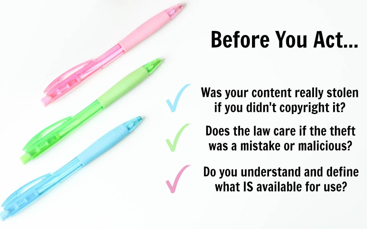 How can you tell if you've had blog content stolen? Here is a 3-question check.