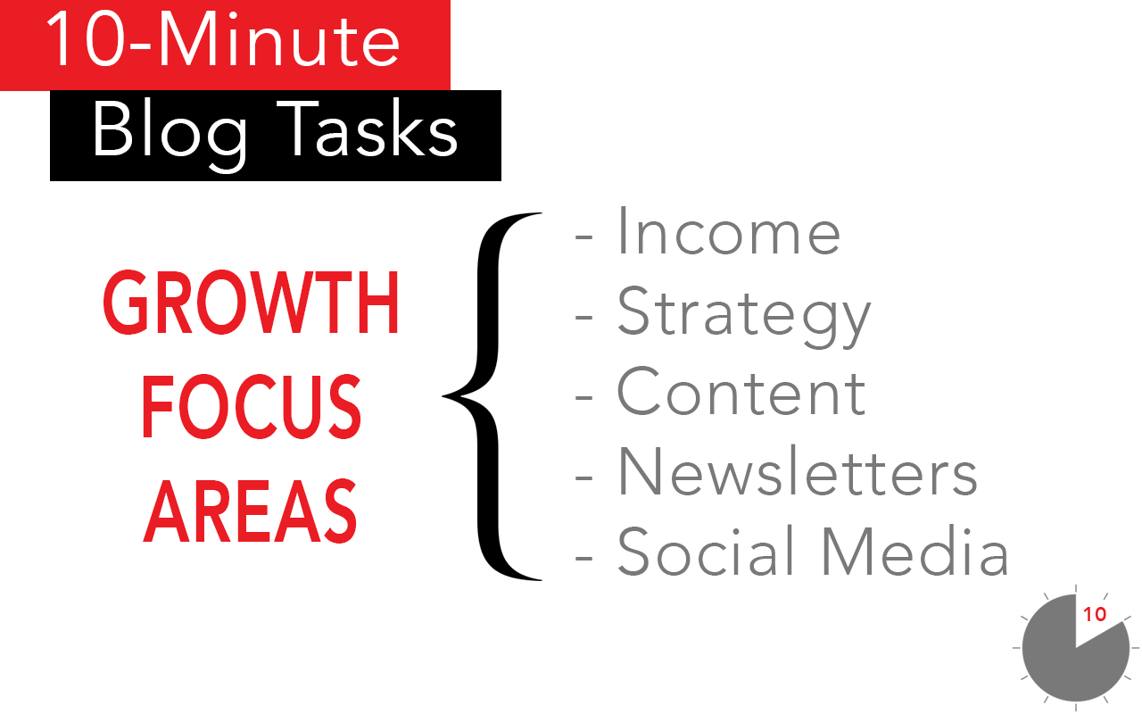 Quick Blogging Tips to Grow a Blog and Blog Income