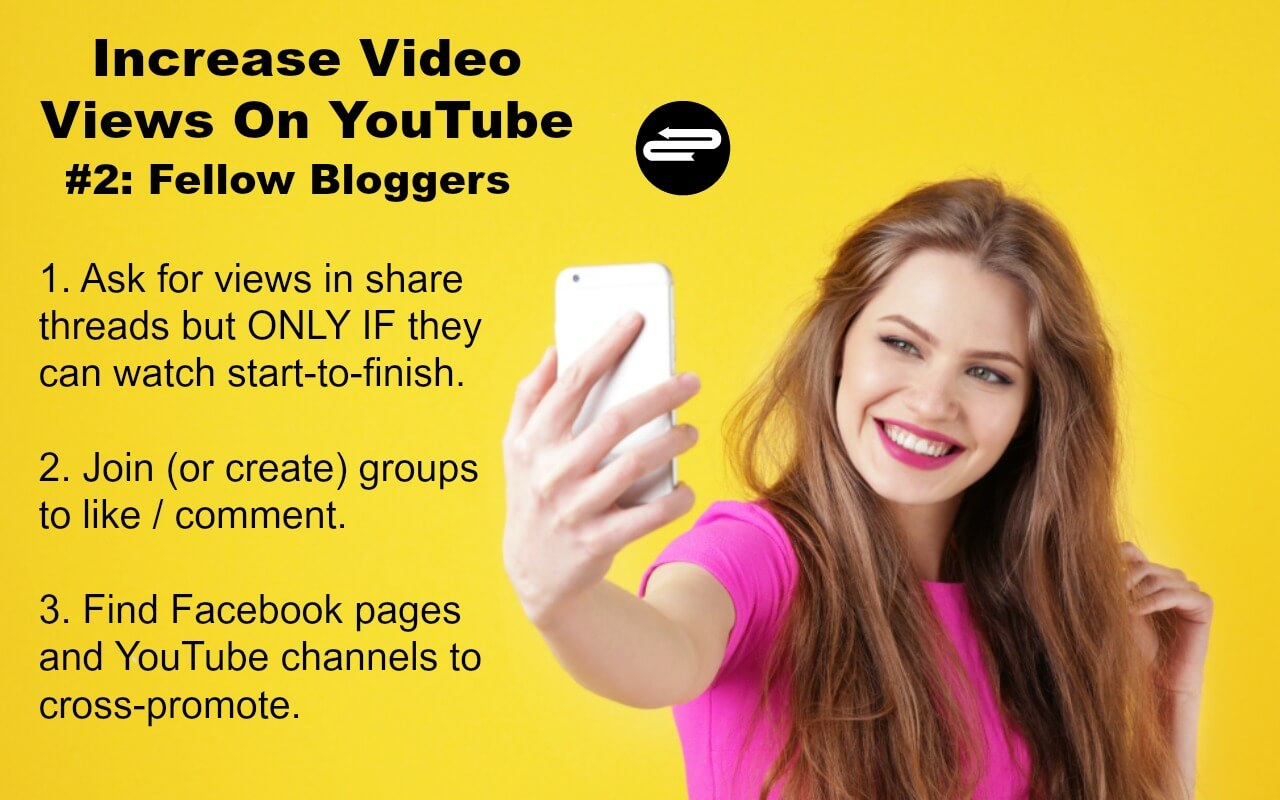 Get Views on YouTube Videos by Help from Bloggers