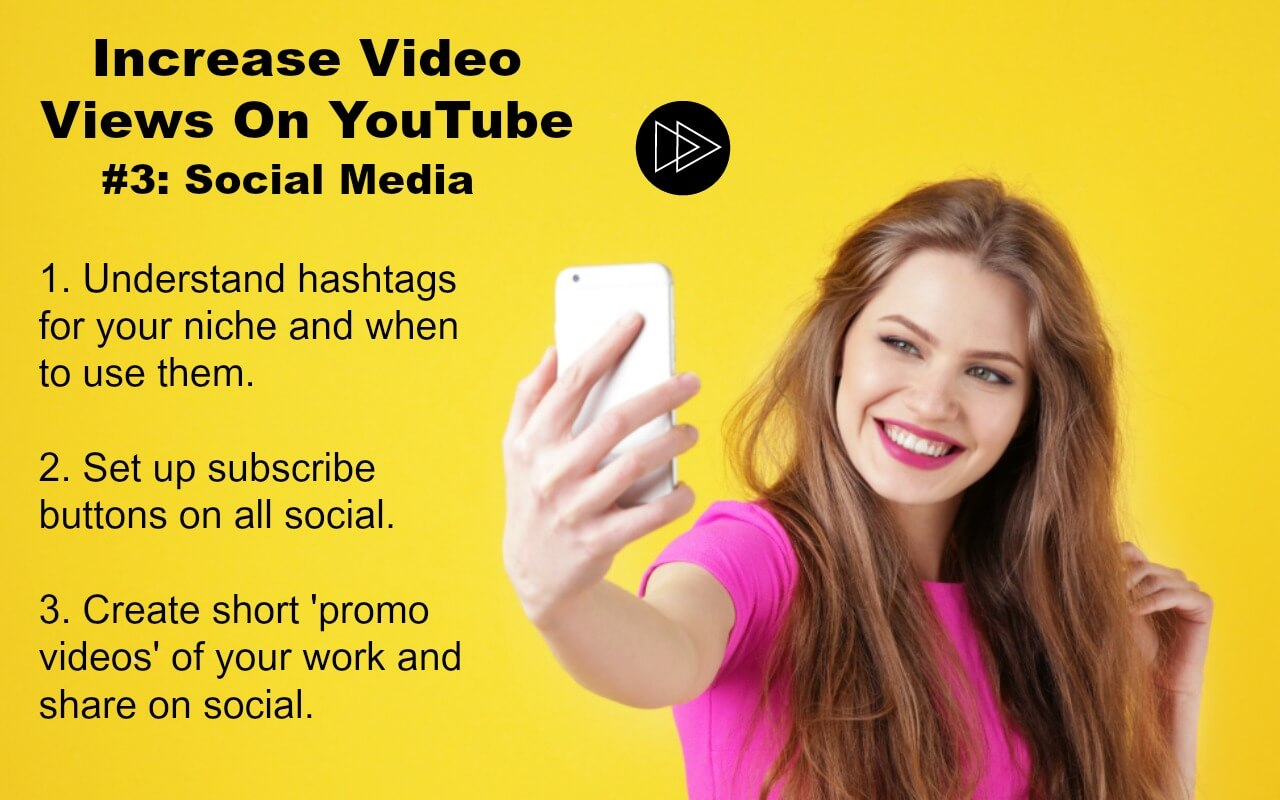 Grow your YouTube video views by Using Social Media strategically