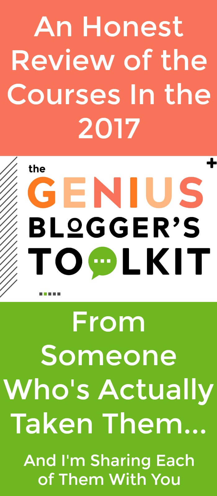 I'm sharing an honest, no-holds-barred review of the resources in the 2017 Genius Blogger's Toolkit because I want you to spend your blogging income the best way for your business.