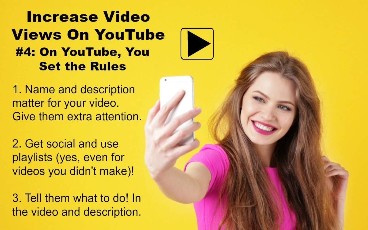 Utilize all that YouTube offers creators in order to increase video views
