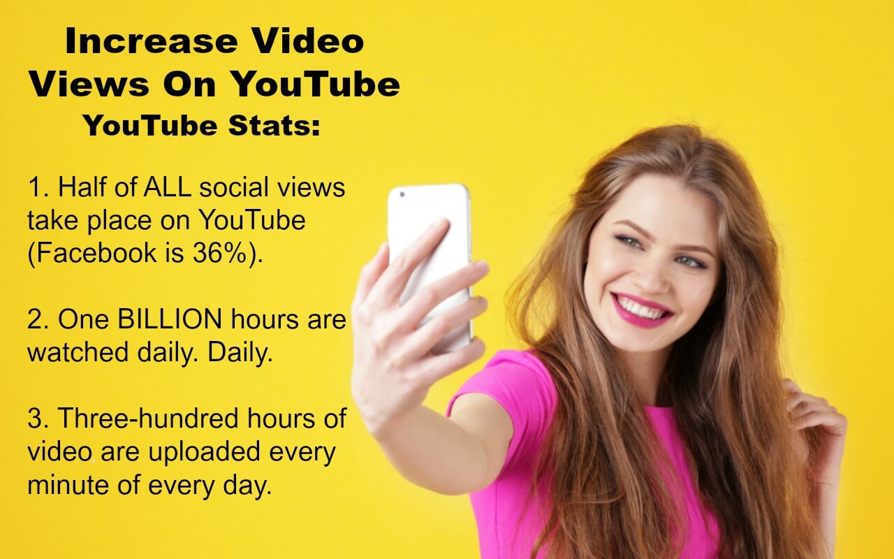 YouTube Statistics show why you should be on the platform