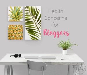 Health Concerns for Bloggers: Things That Can Kill You Early