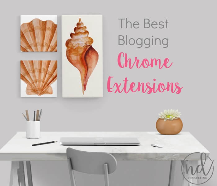 Increase productivity and efficacy with blogging and writing by using these Chrome extensions.