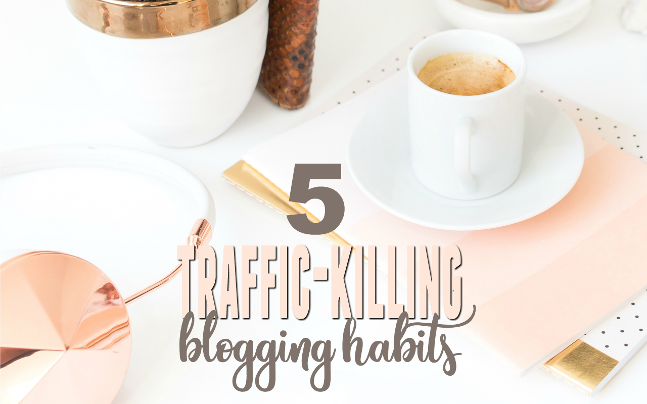 Make more blog income by eliminating these bad blogging habits