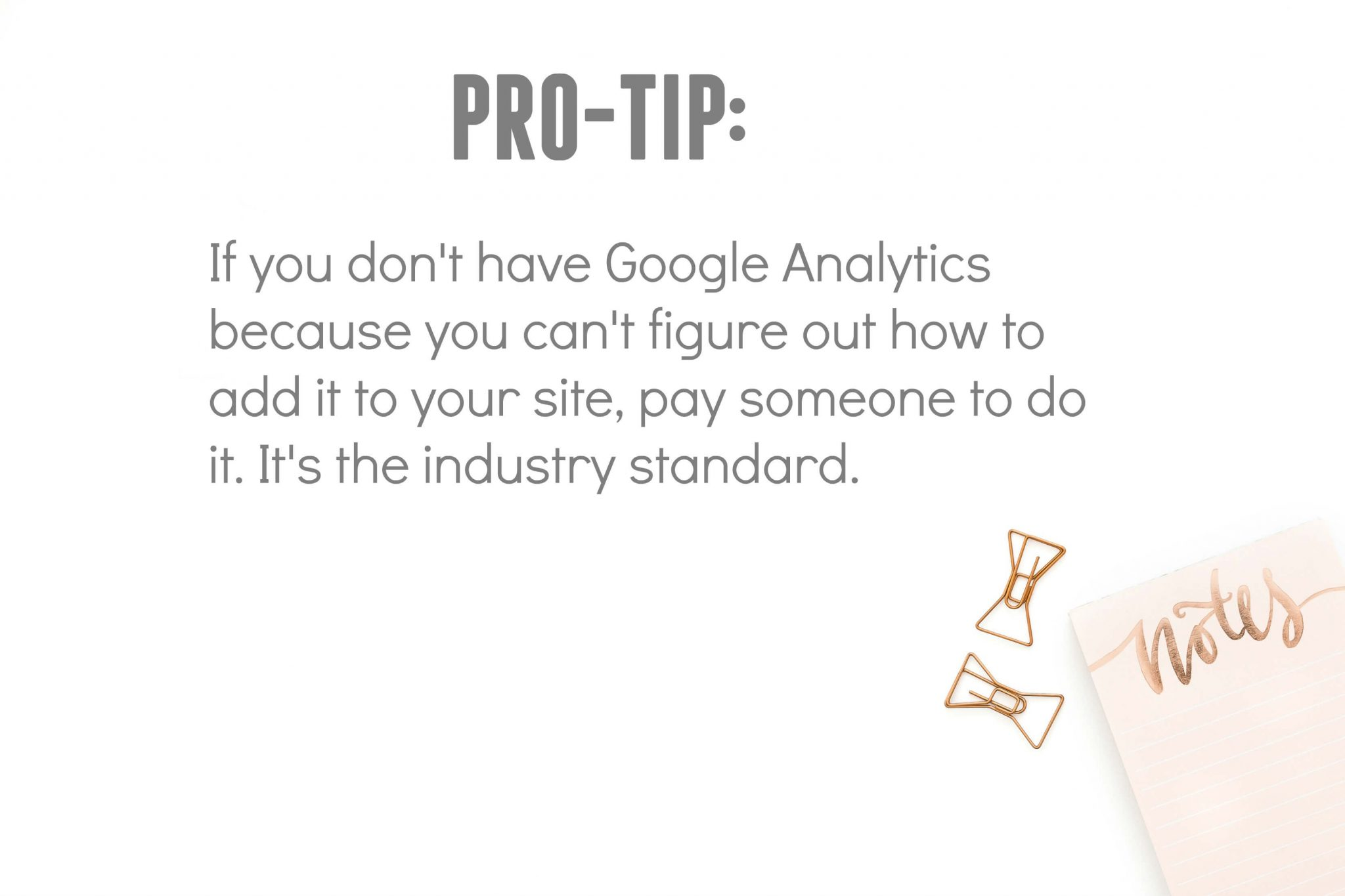 Get Google Analytics Installed on Every Site and Blog You Have
