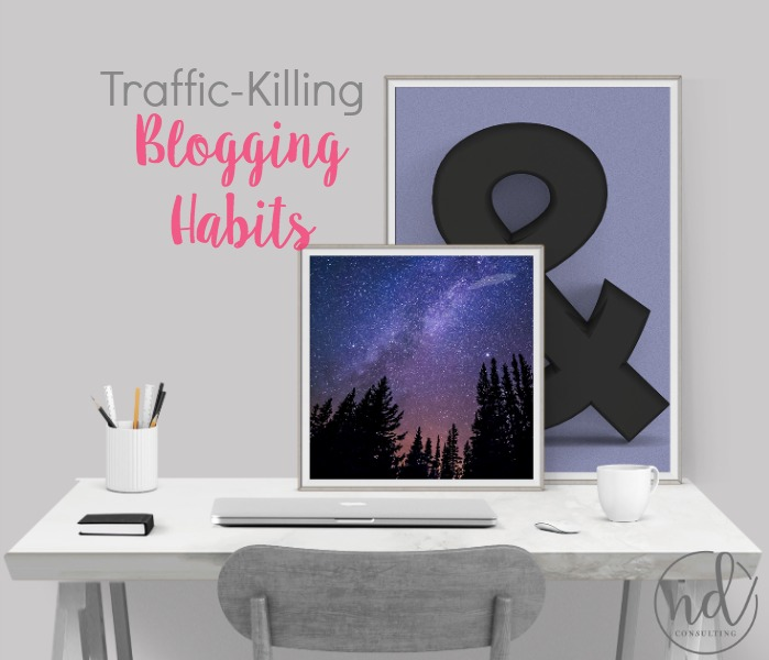 Bag Blogging Habits that Keep you from making a blog income