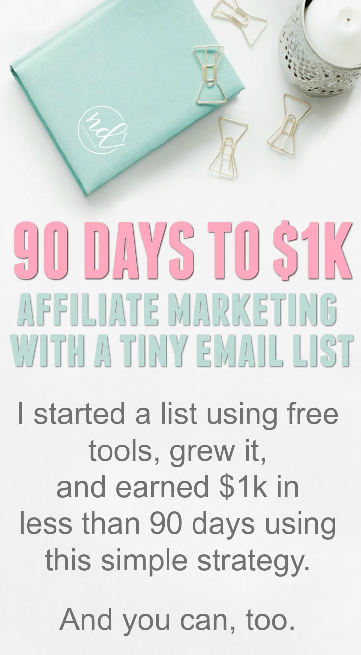 Earning with Affiliate Marketing Using a Small List or No Email List at All #affiliatemarketing #blogging