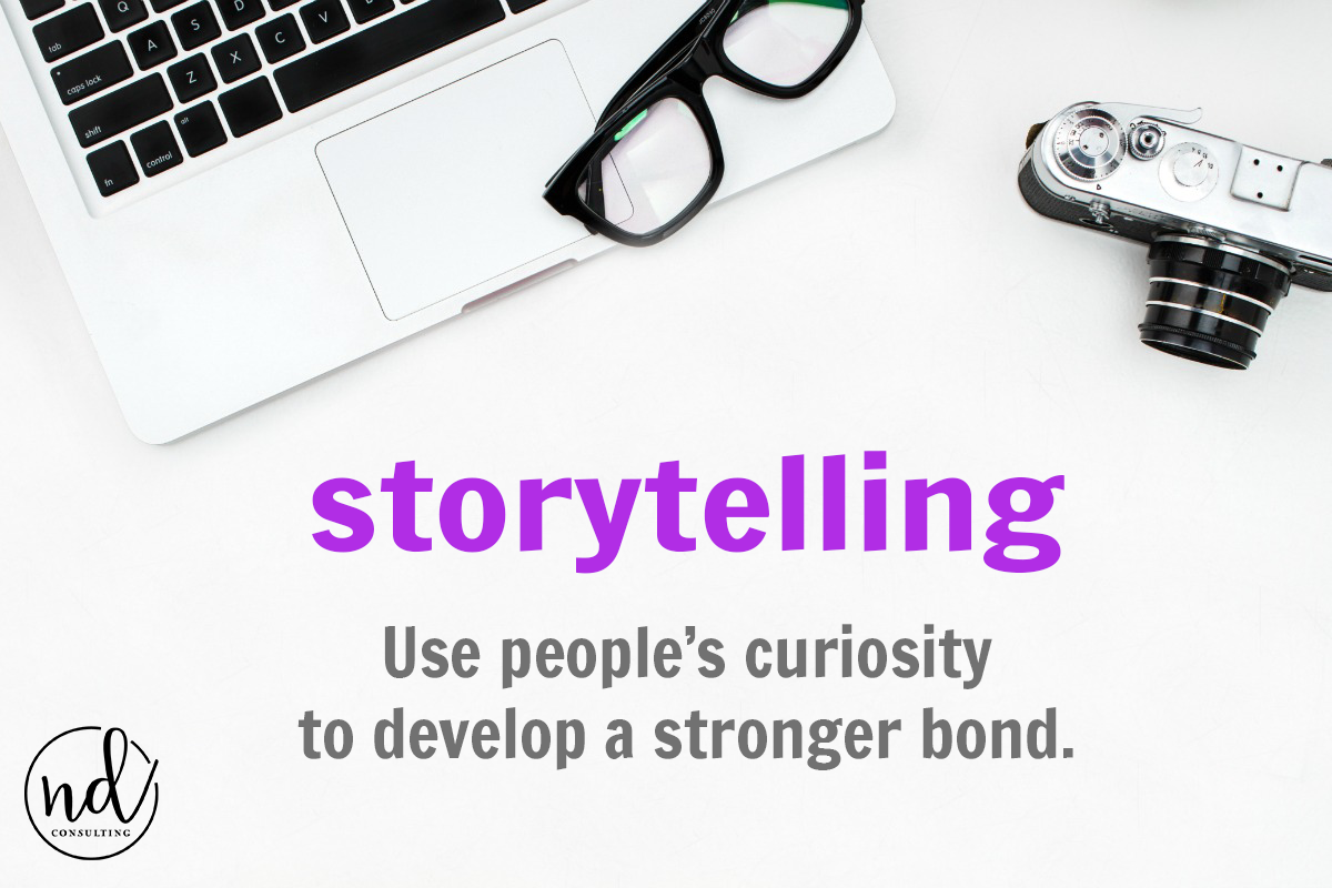 curiosity in storytelling