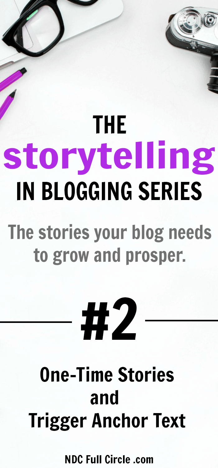 Use These 2 One Time Stories and Trigger Anchor Text to Grow Blog Traffic #blogging #blogtraffic