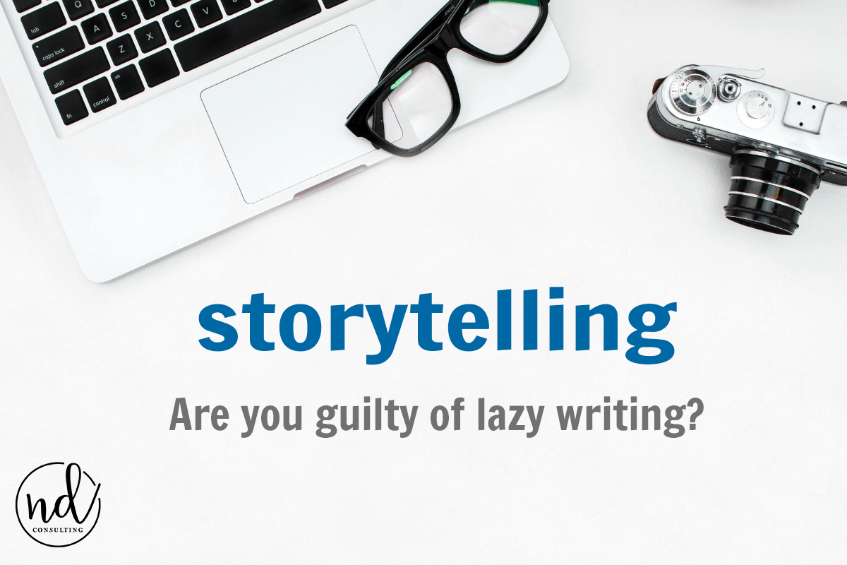 Are you guilty of lazy writing on your blog?