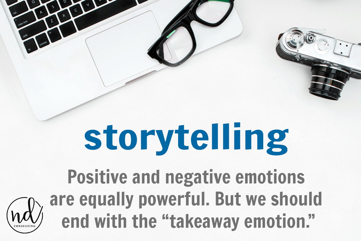 positive and negative emotions are equally powerful in writing