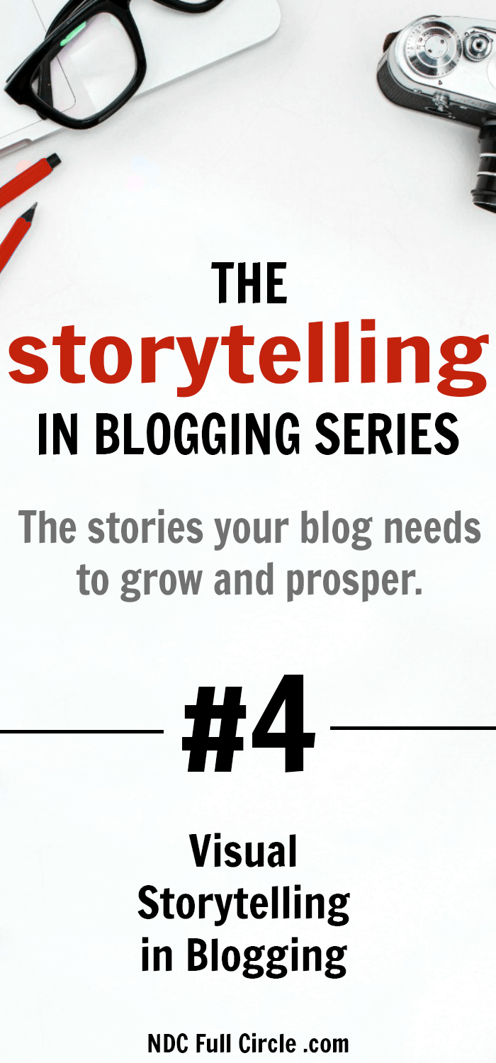 In order to increase blog traffic, learn how to use visual storytelling in blog posts, social shares, and so much more! #blogging #storytelling #contentmarketing #ndconsulting
