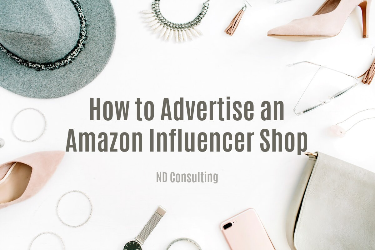 Learn how to promote an Amazon Influencer Shop