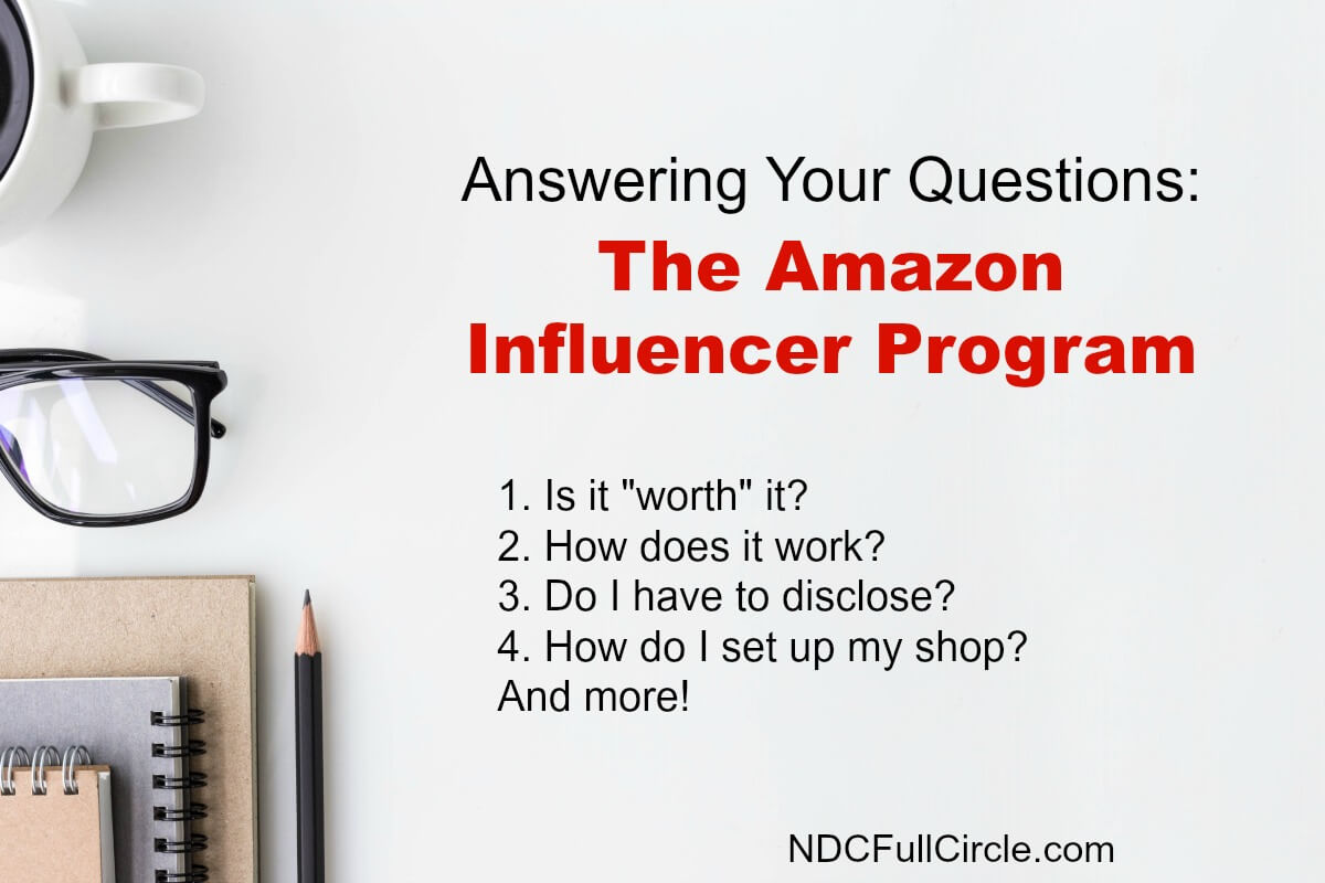 Learn about affiliate marketing with the Amazon Influencer Program and shop